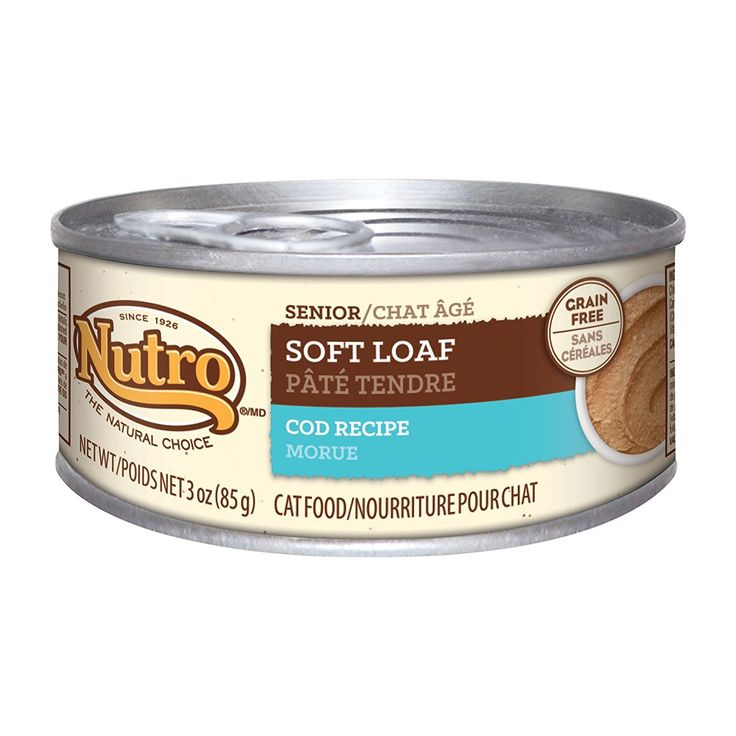 Nutro Natural Choice Soft Loaf Cod Senior Cat (24x3oz) *** Quickly view this special cat product, click the image : Cat food