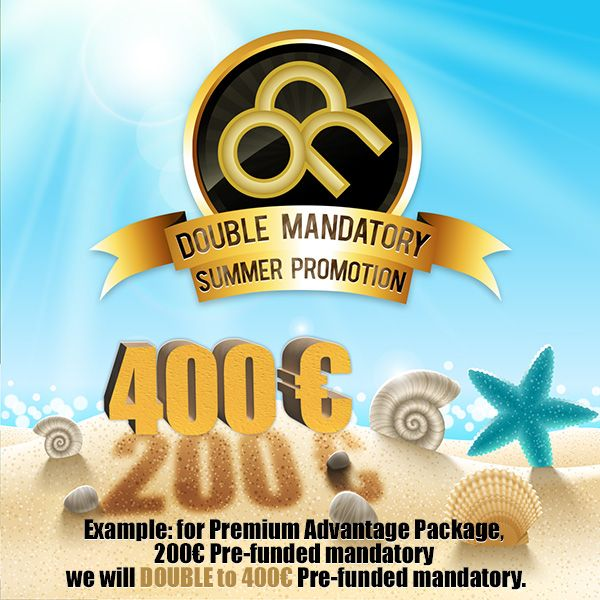 Double your money this summer !