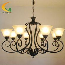 luces de techo lmpara de araa de restaurante sala de estar dormitorio lmparas de hierro retro
