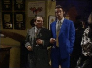 The classic bar scene from Only Fools And Horses.