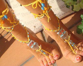 A piedi nudi Pocahontas tribale frangia della nappa di GPyoga