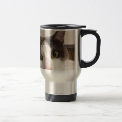 #Smoky Cat Travel Mug - #travel #accessories