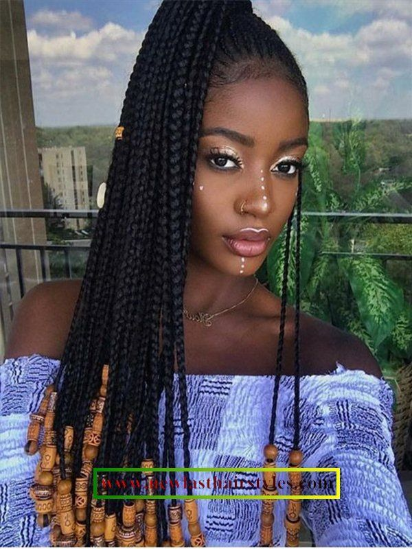 African Single Braid Hairstyles 2018 Braids Africanhairstyles