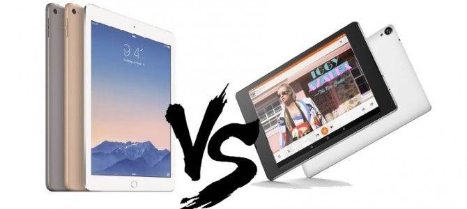 Apple iPad Air 2 vs. Google Nexus 9 | Cartuse Imprimanta