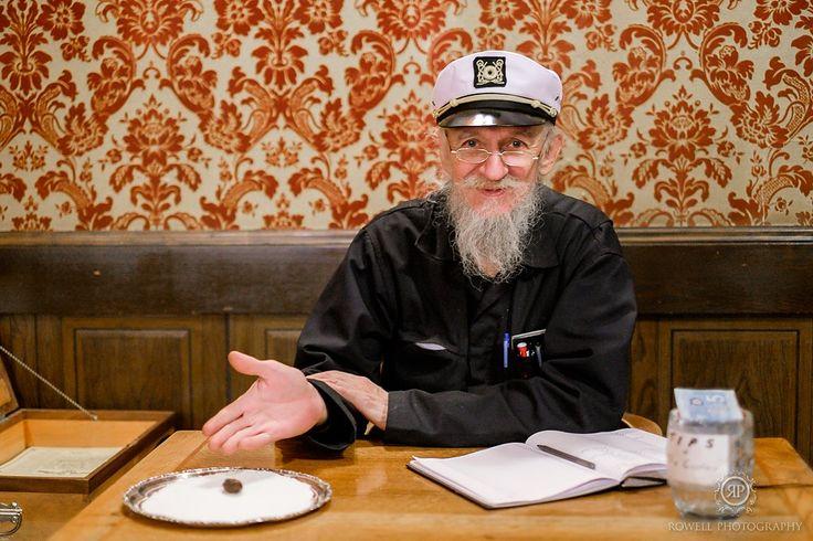Captain Terry Lee of Dawson City's famous Sourtoe Cocktail