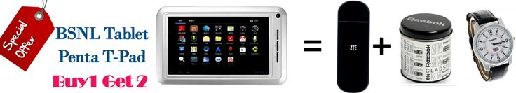 Buy BSNL Tablet Penta T-Pad IS709C (White) | Compare Price And Buy BSNL Tablet Online http://www.syberplace.com/bsnl-tablet-penta-t-pad-3-in-1-offer.html Shop online for BSNL Tablet Penta T-Pad IS709C (White) online at best prices in India.