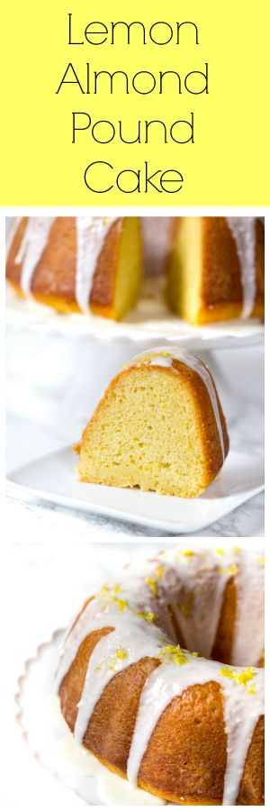 Lemon Almond Pound Cake