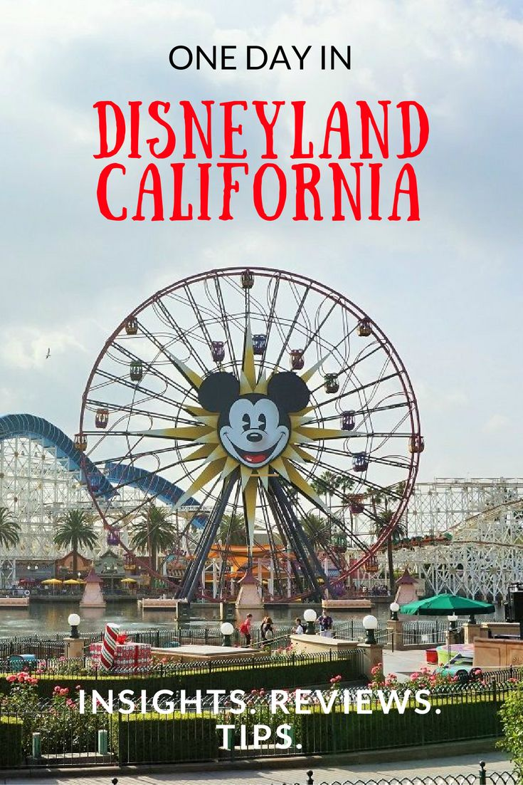 Insights, reviews and tips from our one-day stay at #disneyland where we visited the Disneyland Park and California Adventure Park