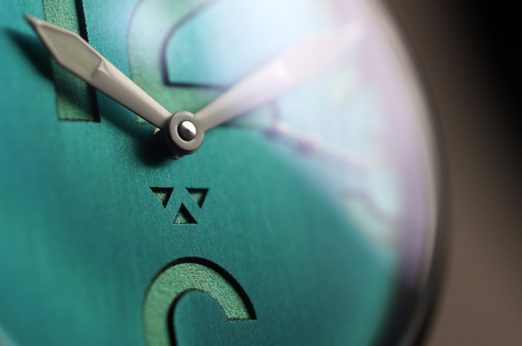 Macro shot of my Numeral 1 Wristwatch