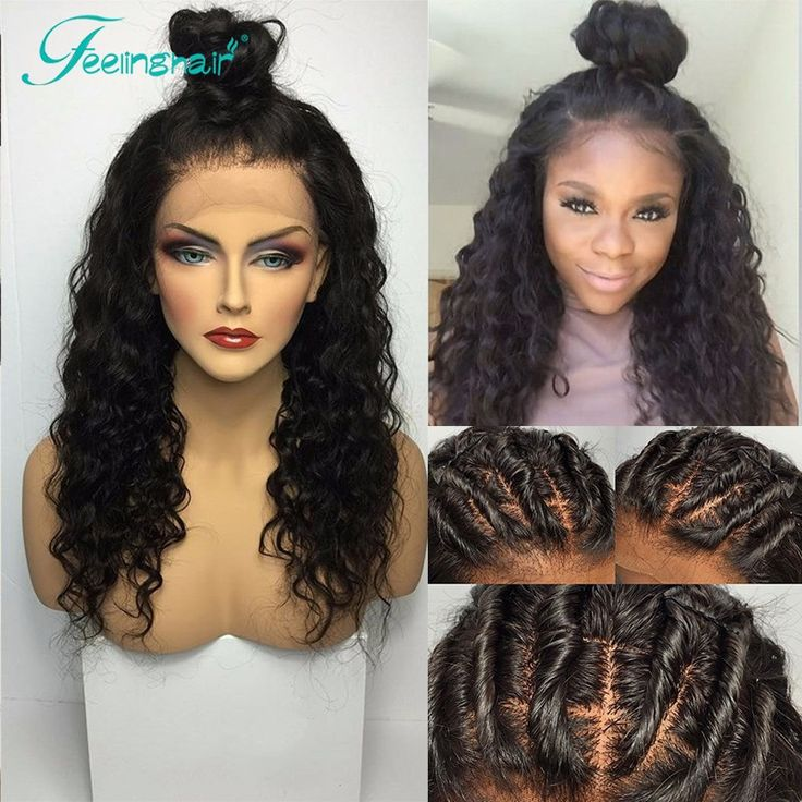 Brazilian Silk Base Full Lace Wig Glueless Full Lace Silk Top Wig Loose Curly Human Hair Wig Silk Top Lace Front Wig Baby Hair