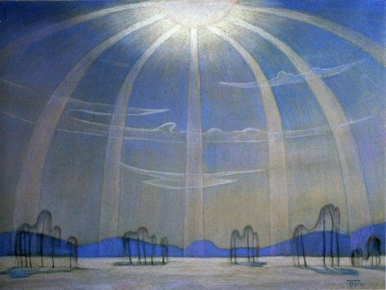The poem sunny day. Noon by Boris Smirnov Rusetsky