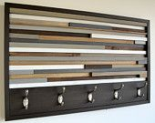 Coat Hooks - Style Meets Function - Upcycled wood sculpture