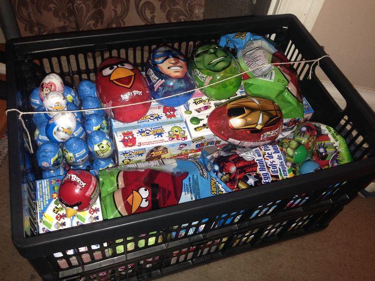 300 Kinder Surprise Eggs :D!?!