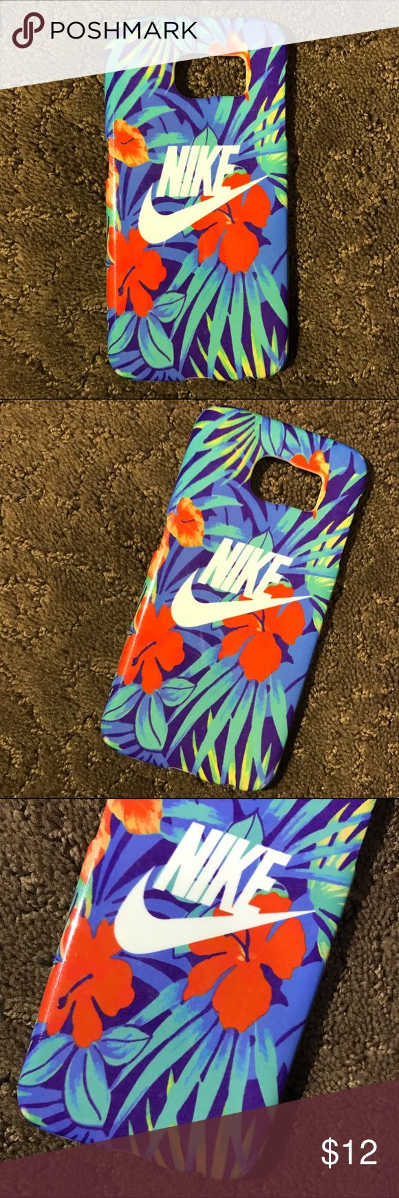 Nik Hawaiian floral case for ANY Samsung phong!! PLEASE READ **  This case is available for the SamSung Galaxy s6 / s7 / s7 Edge / s7 / and note 7. Please after you purchase let me know for what phone you need. Nike Accessories Phone Cases