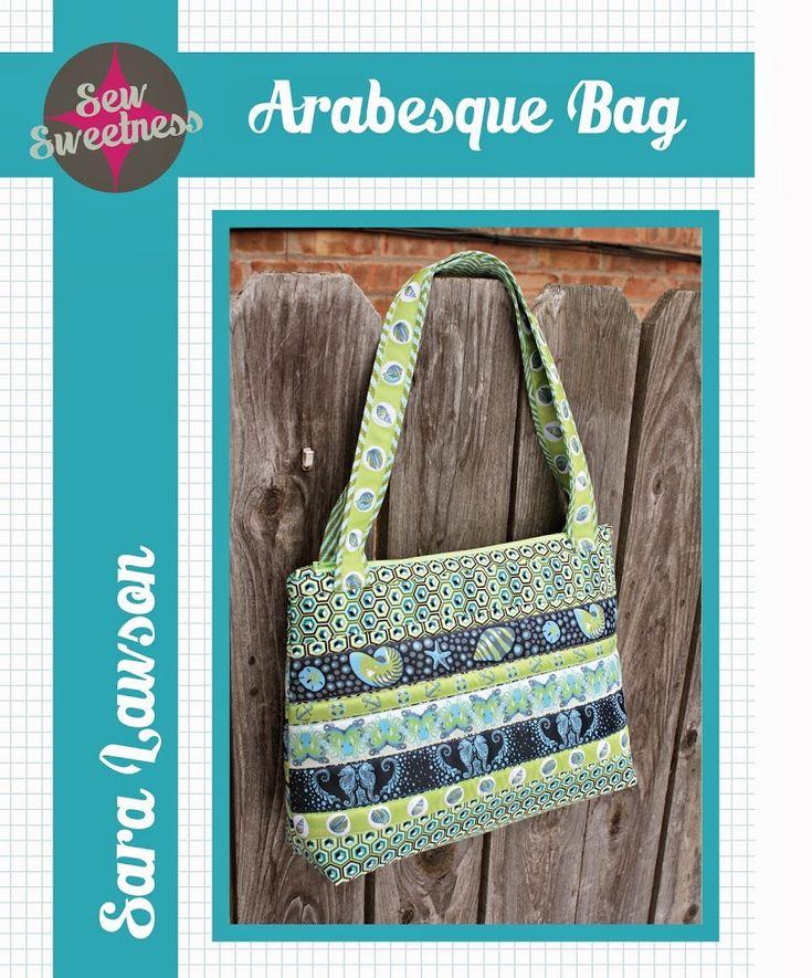 Free Bag Pattern: Arabesque Bag - Sew Sweetness