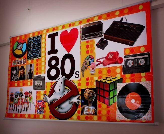 Decoração de festa tema anos 80: ideias e fotos inspiradoras