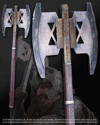 Gimli's Axe http://www.noblecollection.com/index.cfm?fa=products.product&id=NN2222&catid=17