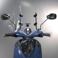 De emco Novi, een stoere scooter voor in de stad. En dat ook nog eens #stil #duurzaam #groen en #elektrisch