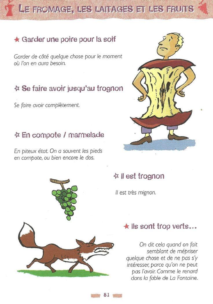 Le fromage les laitages et les fruits expressions for Allez cuisine translation