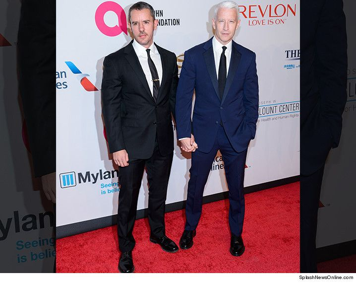 Anderson Cooper and his partner Ben Maisani