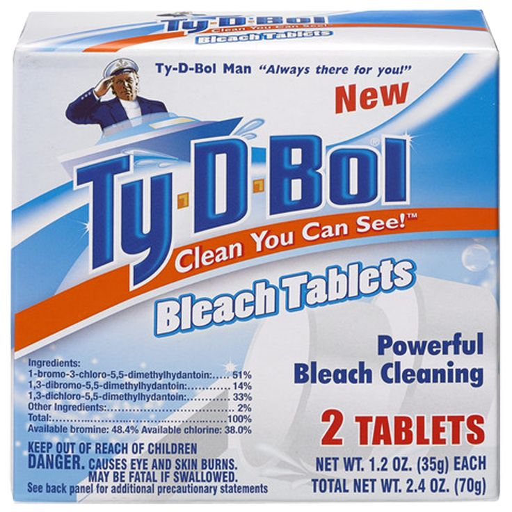Bleach Tablets In Toilet Tank