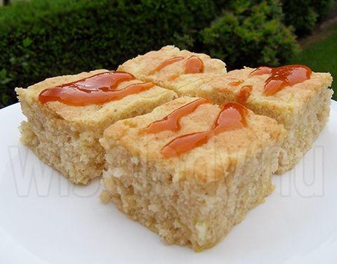 Anya főztje: Cukkinis kevert sütemény