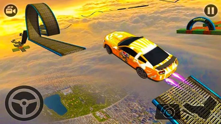 Impossible Stunt Car Tracks 3D Car Racing Games 2019 in