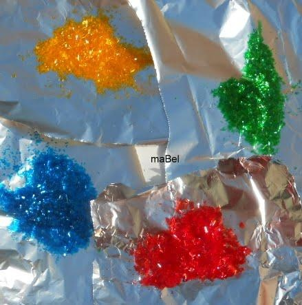 Brillantina comestible casera - Glitter