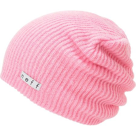 Also known as the best beanie ever, the Neff Daily beanie in the custom light pink color way features a signature slouchy fit with a lightweight, super soft, stretchy knit and classic Neff logo tag at the hem. Perfect to wear with any outfit on any given day, the Daily Neff beanie has your style covered.