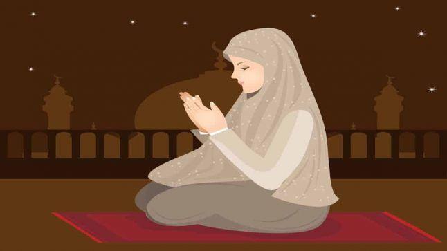 تفسير حلم الصلاة للمتزوجة في المنام لابن سيرين Girl Cartoon Hijab Cartoon Girl Drawing