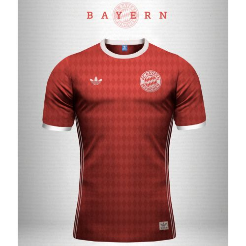 Bayern München 16/17 RED Training JERSEY