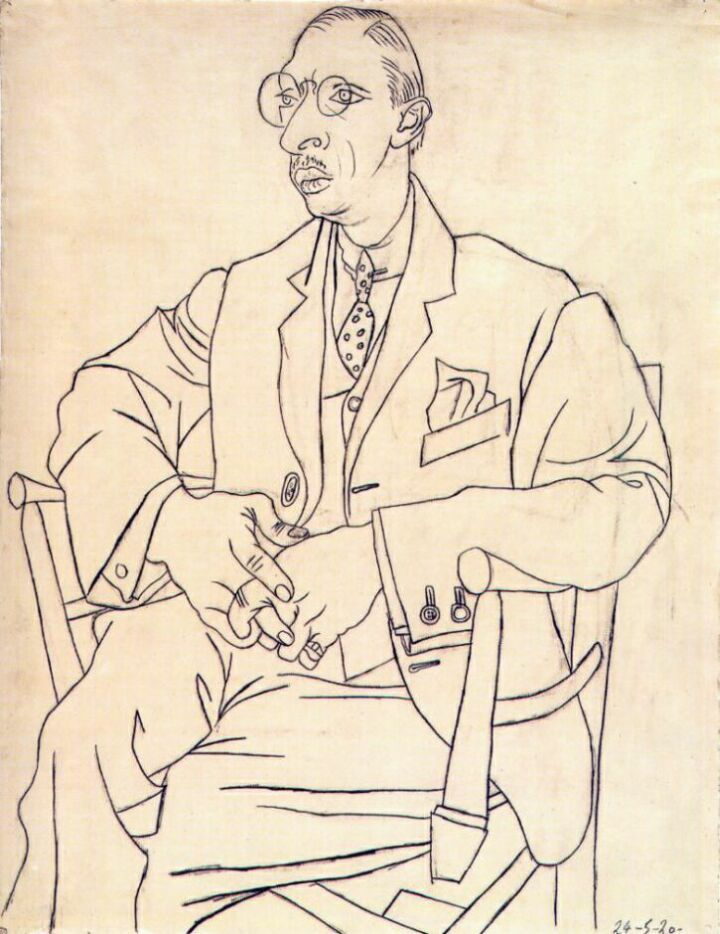 Pablo Picasso - Igor Stravinsky