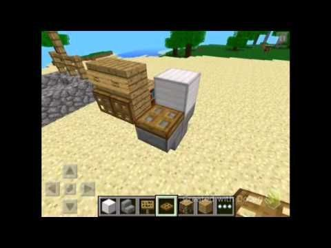 Minecraft Pe How To Make Bathroom Furniture Youtube Minecraft Pe