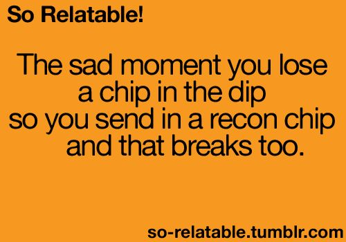 Damn recon chip! Every time!