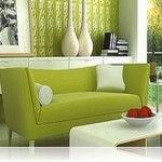Yeşil Ton Boya Rengi İle Boyanmış Ev Örnekleri