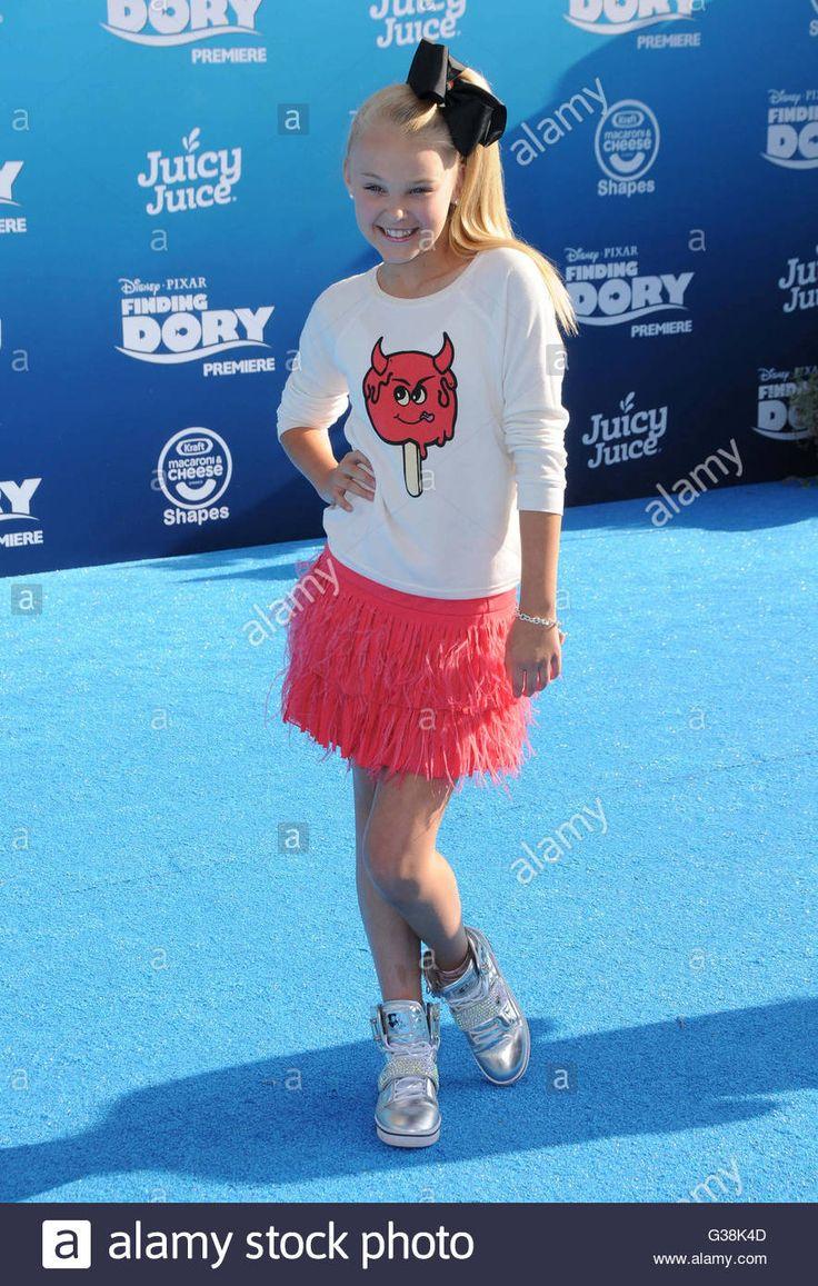 Hollywood, Ca, Usa. 8th June, 2016. 08 June 2016 - Hollywood. Jojo Stock Photo, Royalty Free Image: 105296813 - Alamy