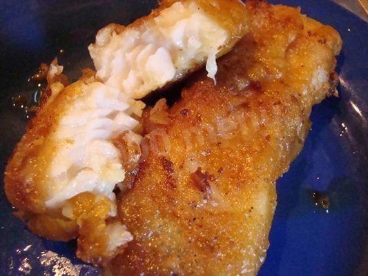 Рыба в пивно-горчичном кляре