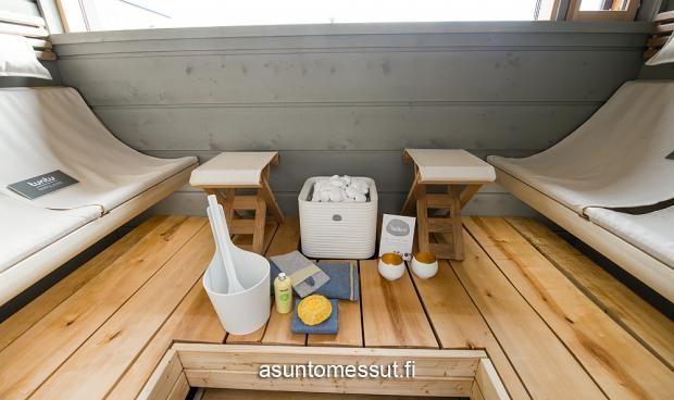 2 Cube 170 - Sauna | Asuntomessut