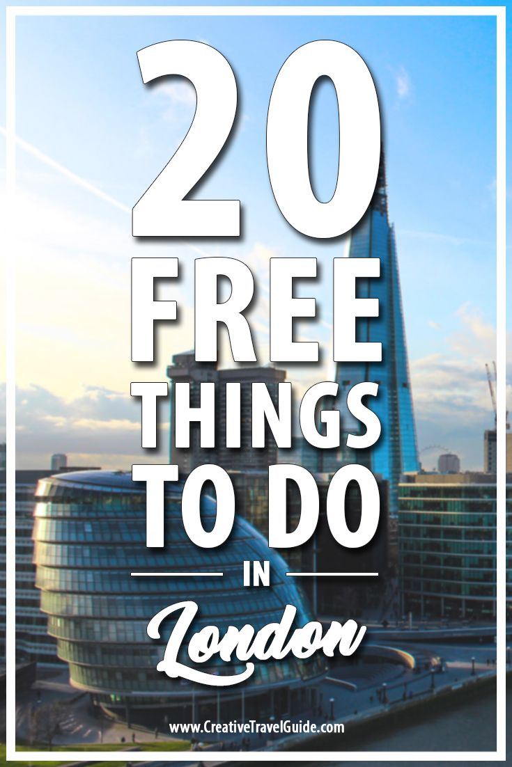 There are so many free things to do in London and with the expensive hotels and restaurants around the city, it is worth taking advantage of those free gems. Here are some of our favourite picks that don't cost a thing!