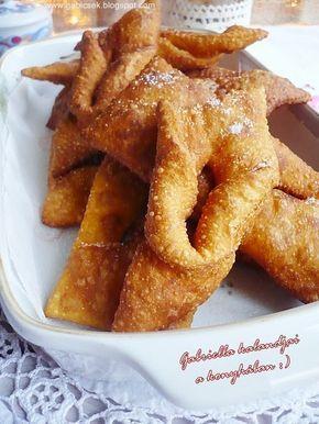 Gabriella kalandjai a konyhában :): Csöröge vagy forgácsfánk