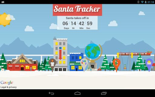 Google Santa Tracker app now available for Android