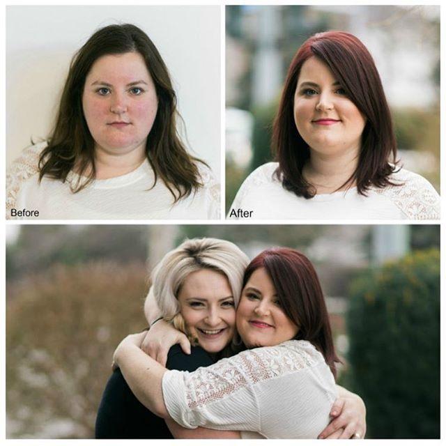 Michelle's Make Over! Hello Red! #ginger #makeover #kelowna #kelownanow #redhair #beautiful #makeup  Hair @hair.by.amandajess  Photography @samanthabanksphotography  Make Up @okanaganmakeupgoddess  Article Blog @kelownanow