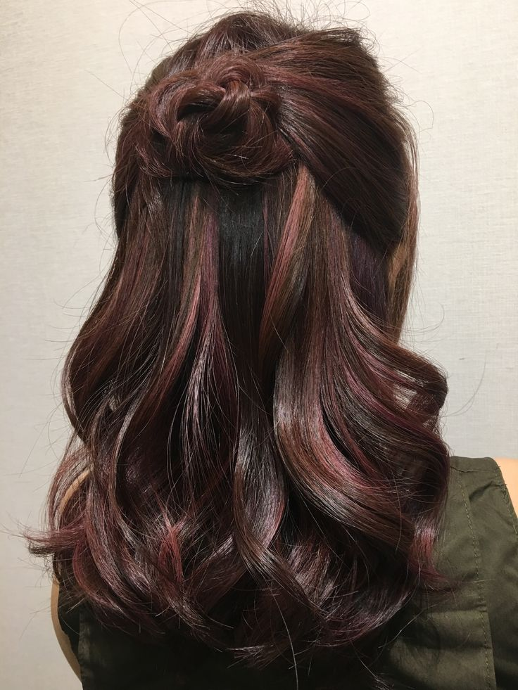 Best 25+ Rose gold brown hair color ideas on Pinterest