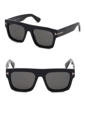 40d7187b8e4 TOM FORD Fausto 53MM Square Sunglasses.  tomford