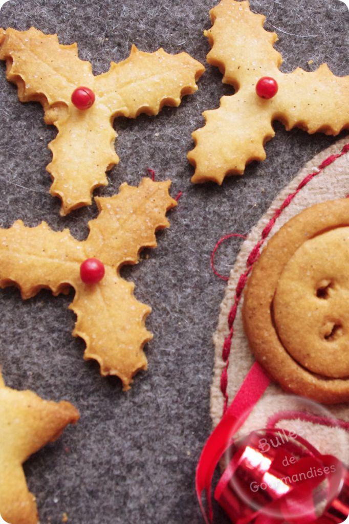 Sablés de Noël à la vanille... croquez du bonheur !!!