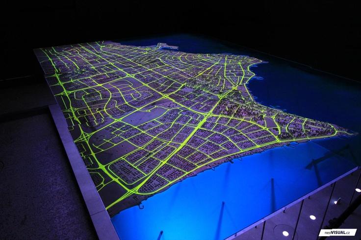 Kuwait City | Space Films | 2010 | V0663  modely | hmotové modely