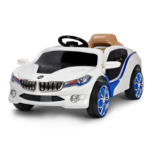 12V Kids Ride on Car Electric w/ 2 Speed Twin Motor MP3 White