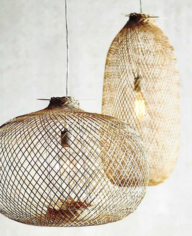 Image Via Cote Maison Lately I've been seeing basket lamps pop up on every boho-chic ceiling from here to Tunesia, and I'm really digging the look. Not sure weather to spring for one of the styles featured below, just go for the Ikea one, or DIY one from an old basket! Let's take a look... I...