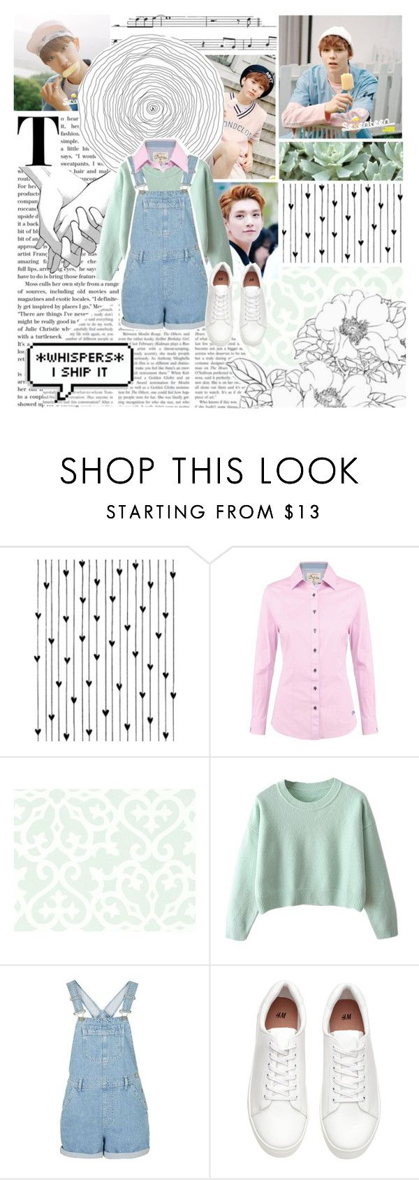 """""""Kpop: Very Nice (Seventeen)"""" by phaedra-solaris ❤ liked on Polyvore featuring Camp, DUBARRY and Thibaut"""