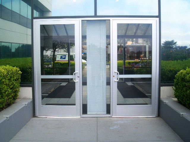Commercial Glass Double Entry Doors With Aluminum Frames Google Search G2